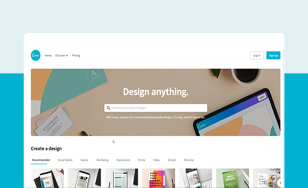 General browse on Canva