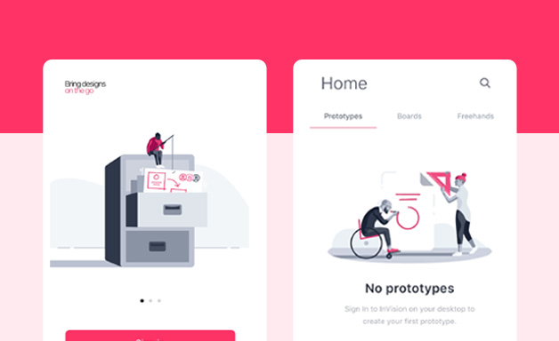 General browse on InVision
