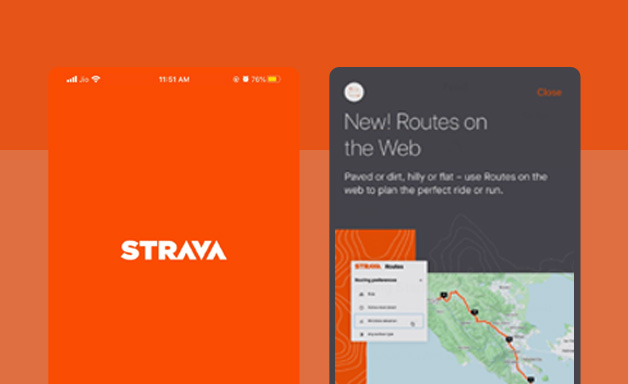 General browse on Strava