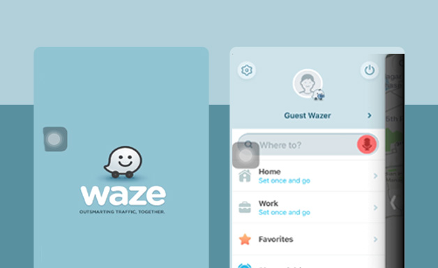 General browse on waze