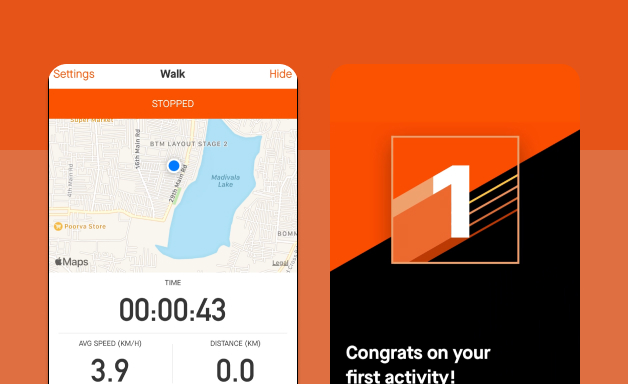 Creating a record on Strava