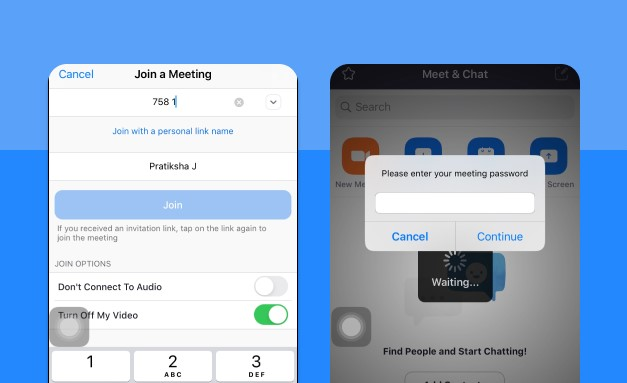 Join a Meeting on Zoom